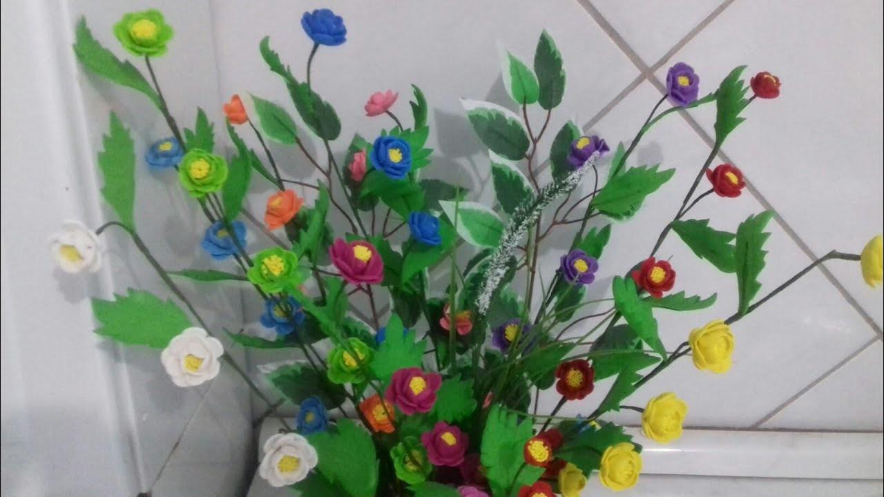 Flor sem frisador