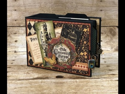 Fun with Graphic 45 Project #1: 1 Page Style 5 Ways MiniBook