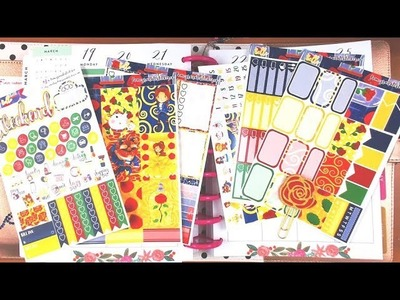 Happy Planner Plan with me March 19-25 featuring PomegranateStickerCo
