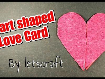 Heart Fold Card made Easy! for Birthdays,Anniversary,Boyfriend.