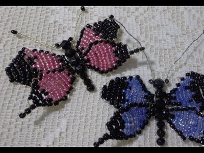 How to make A beaded butterfly