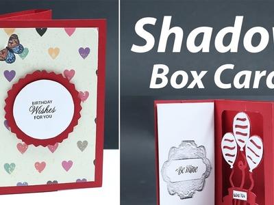 How to Make A Shadow Box Card   DIY Craft Idea   Video Tutorial