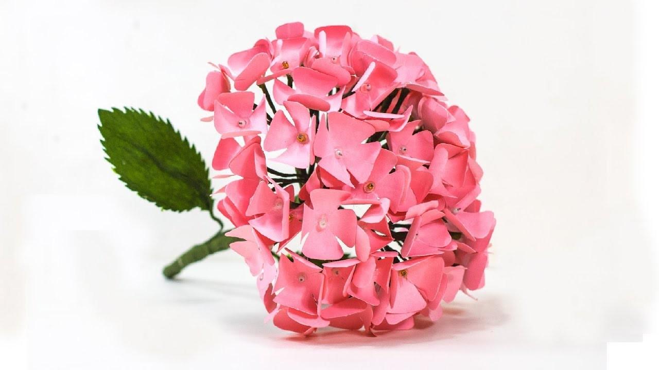 How To Make Hydrangea Paper Flower