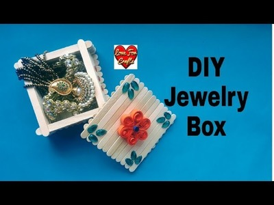 How to Make Jewelry Box | DIY | Ice Cream Stick Craft Idea