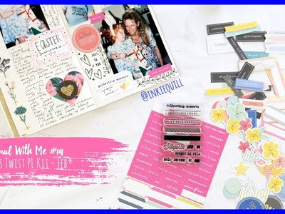 Journal With Me #14 ~ Citrus Twist Feb PL Kit + + + INKIE QUILL