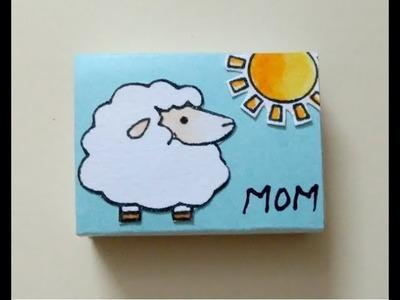 Matchbox Craft Idea, How to make a Matchbox Gift Box, DIY Mother's Day Gift, Mother's Day Craft Idea
