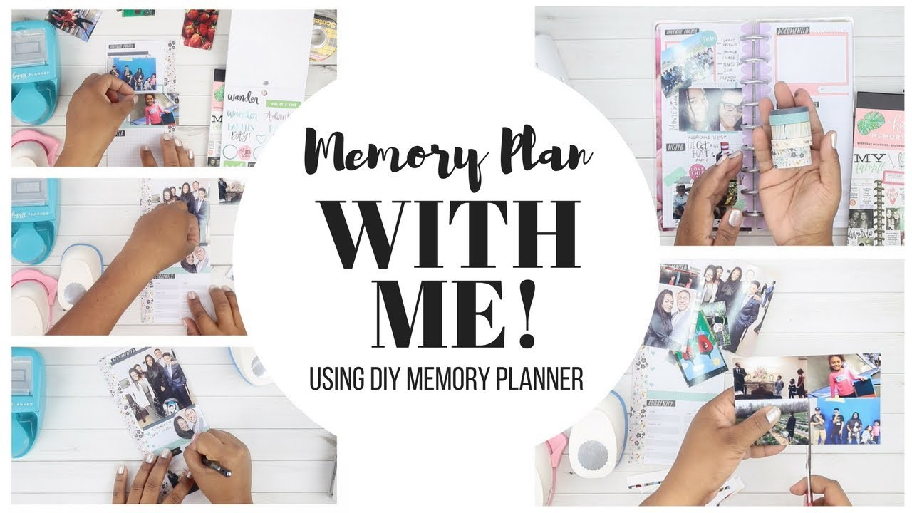 MEMORY PLAN With Me! Using DIY Planner