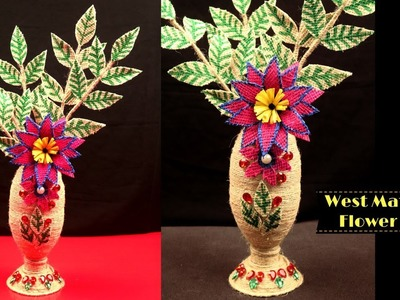 New DIY | How to make best out of waste craft ideas of jute & plastic bottle | Jute craft ideas