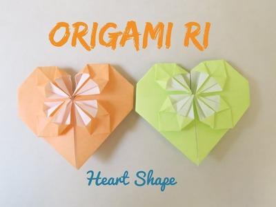 Origami Heart (diamond) 鑽石心形