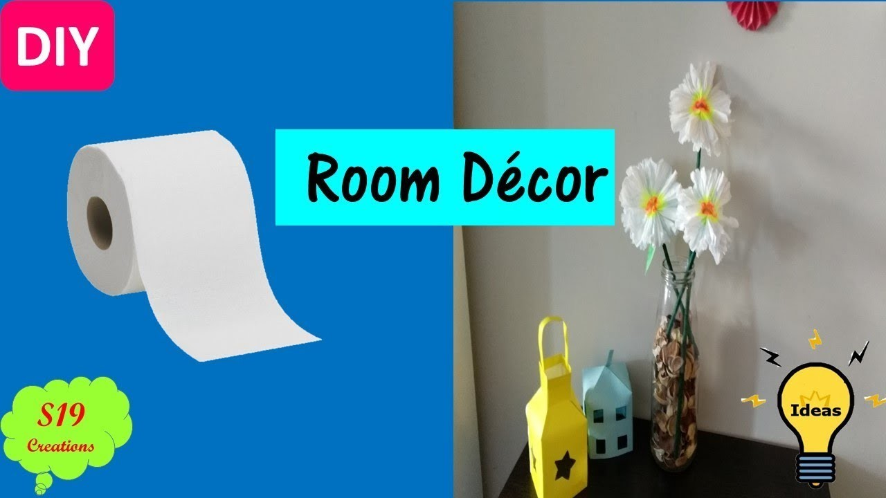 Paper Crafts Tissue Paper Flowers Best Out Of Waste Ideas Diy