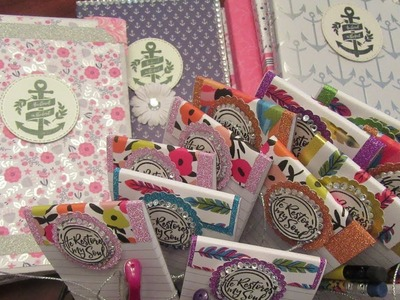 Project Shares: DIY Jr. Legal Pad Holders and Altered List Pads