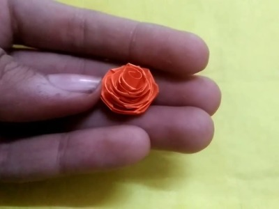Quilling roses with 3mm strips