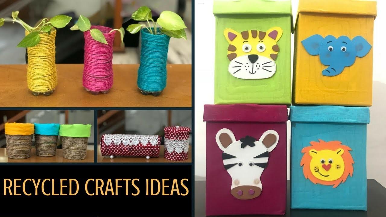 Recycled Craft Ideas Diy Jewellery Box Toy Storage Box