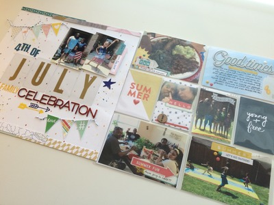 Scrapbooking for Mortals Tutorial #4: Two-Page Layout Alternative