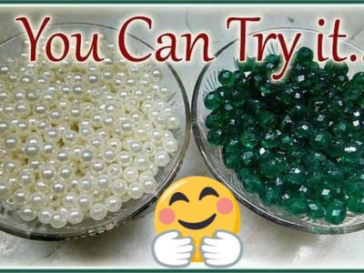 #170 How To Make Pearl Beaded Necklace || Diy || Jewellery Making || Art || New Design