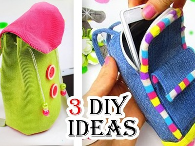 3 DIY BACKPACK PHONE CASE TUTORIAL YOU HAVE TO TRY