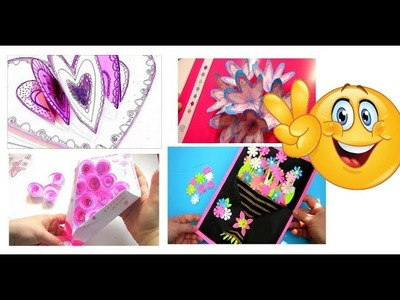 5 Special 3D ❤️ Pop Up Card. DIY Mothers Day Cards Ideas | Mothers Day Gift 2018