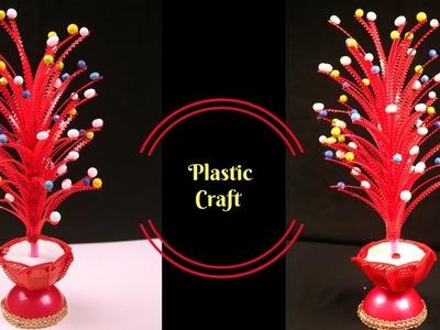 Best DIY craft ideas - Best Reuse of Waste Plastic Basket Craft Idea - Best out of Waste Craft Idea