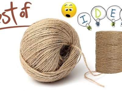 Craft with jute rope | Best craft ideas | DIY arts and crafts | DIY jute rope