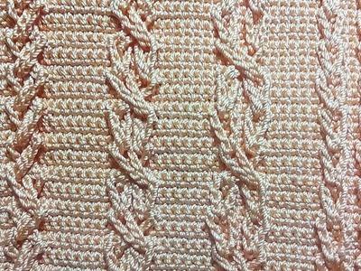 Crochet || 3d motif by ch pattern
