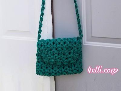 Crochet My Grandma's Bag - Left  Hand Tutorial (EN)