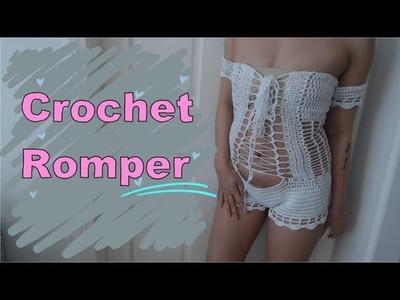 Crochet Romper   Tutorial DIY
