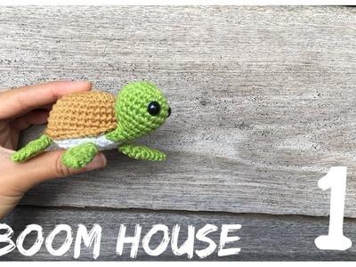 ????Crochet Turtle???? Móc con RÙA  ???? Boom House