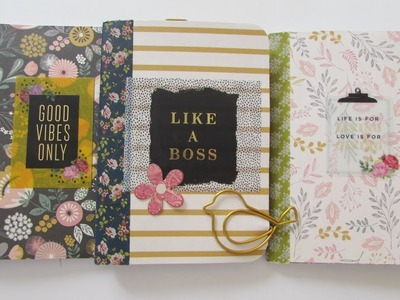 DIY Altered Mini Composition Books - Dollar Tree