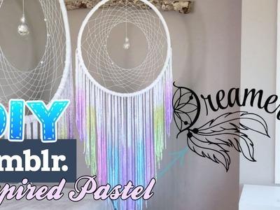 DIY BEADED Tumblr Dreamcatcher Tutorial! How To Make A Dreamcatcher!