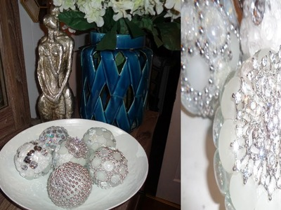 DIY | Bling Edition |  How To Make Decorative Balls