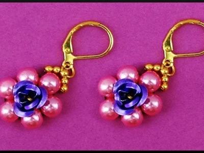 Flower, DIY, Blumen Perlen Draht Armband, Beaded Flower Memory Wire ...