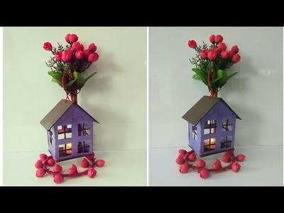 DIY cardboard room decor|DIY show piece| DIY wall decor| DIY candle holder| artmypassion
