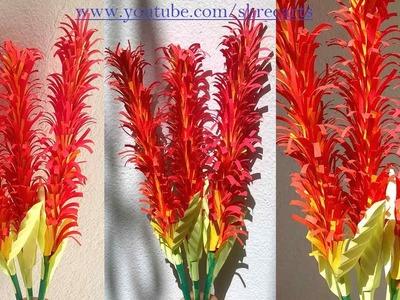 DIY Classic Paper Flower stick-2|| Handmade craft ||Shree Arts