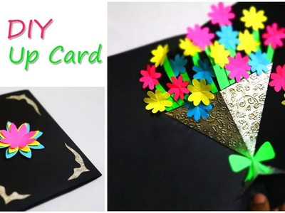 DIY Greetings Card | Flower Bouquet Pop Up Card | Mother's Day Card