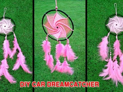DIY How to make hanging Dreamcatcher for cars