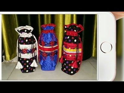 DIY : How To Sew Designer Bottle Cover By Anamika Mishra. .