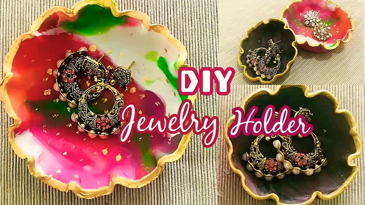 Diy Jewelry Holder Easy Diy Crafts How To Make Jewelry Holder At Home