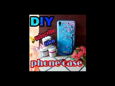 DIY | PHONE CASE | DECORATIVE | FLORAL | PHONE COVER MAKEOVER | PAINTING | 1