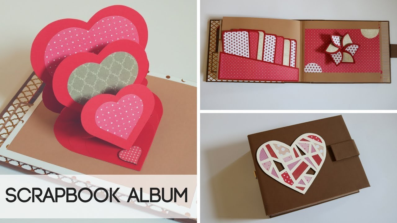 Diy Scrapbook Photo Album Scrapbooking Ideas