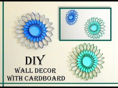 DIY Wall Decor with only cardboard | less than $1