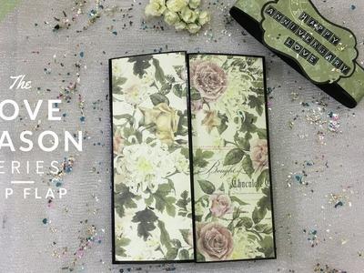 Flip Flap | DIY Anniversary Gift Idea | Valentine's Day.Anniversary Scrapbook| Blackbands