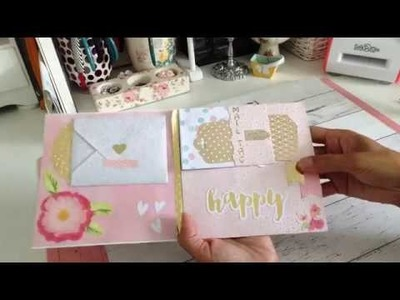 Flipbook Style Base TUTORIAL #3 - Using One 12x12 Paper