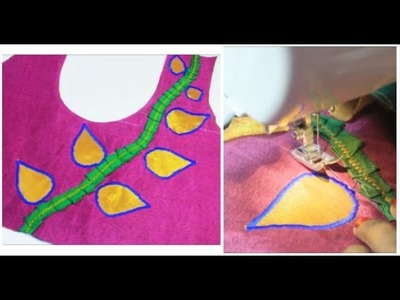 Hand Made Embroidery Blouse |Latest & Easy Method (DIY)