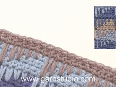 How to crochet the Spike Stitch – long double crochet
