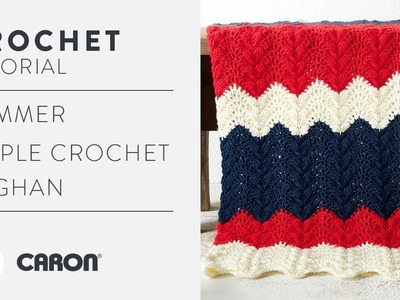 How to Crochet the Summer Ripple Crochet Afghan