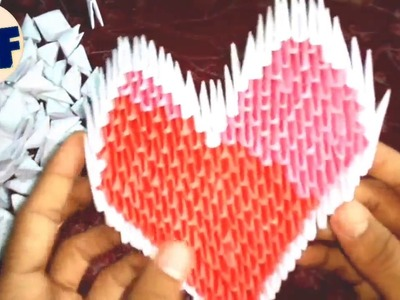 How to make a Paper Heart | DIY paper Craft | Origami Heart Tutorial || ????