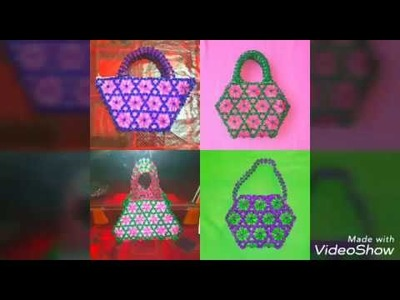 ????????How to make beaded bag