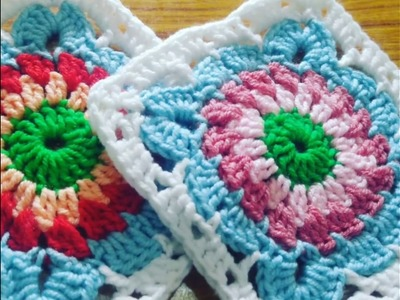 How to make Crochet Patroon Square