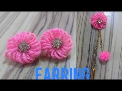 How to make earring at home