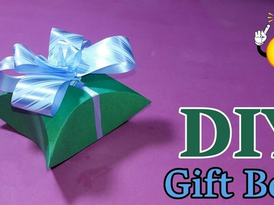 How To Make Gift Box | DIY Arts And Crafts | Handmade Craft | Craft Idea From Paper | Basic Craft